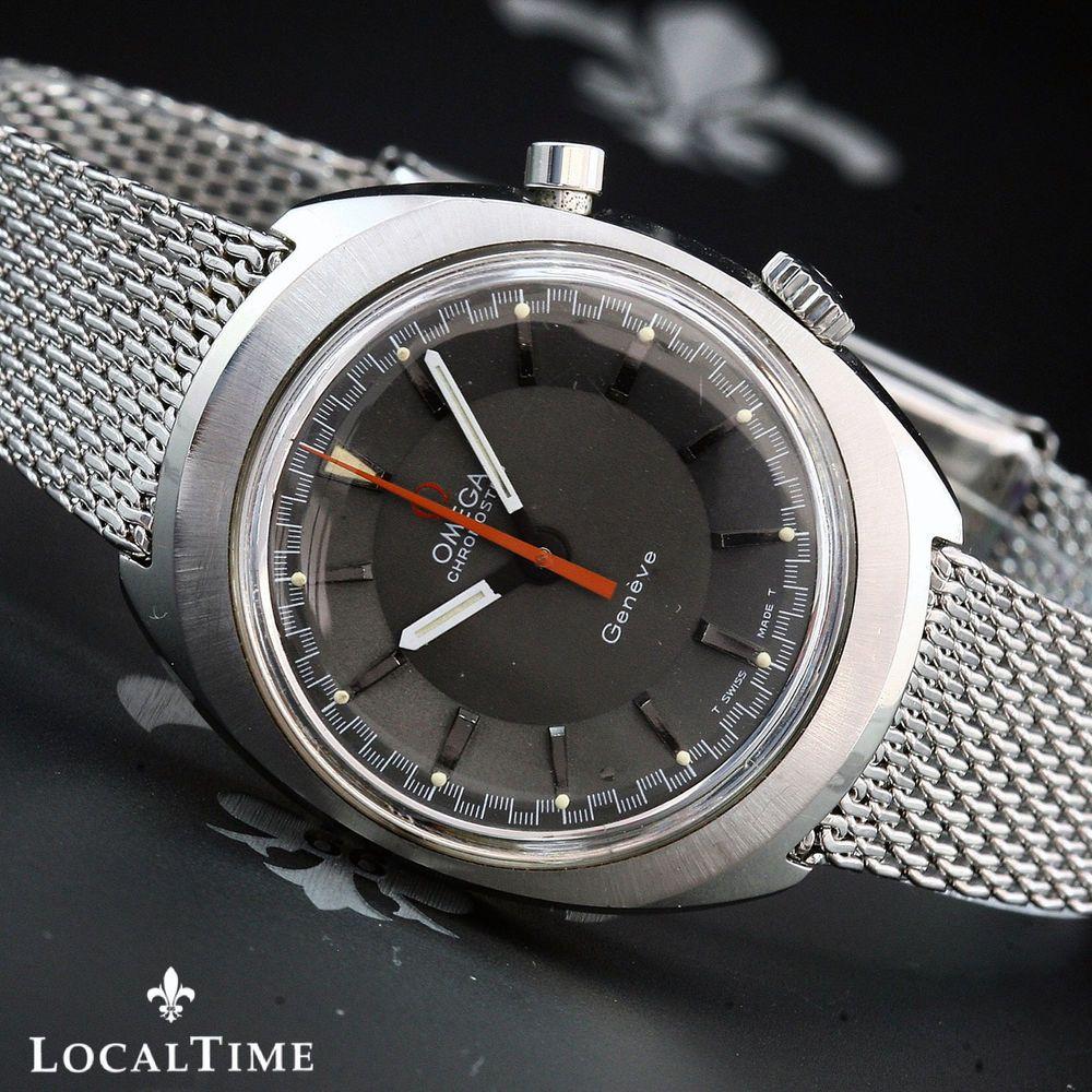 Details about 1967 Omega Swiss Geneve Vintage Chronostop