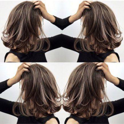 Super Hair Layered Short Highlights Ideen