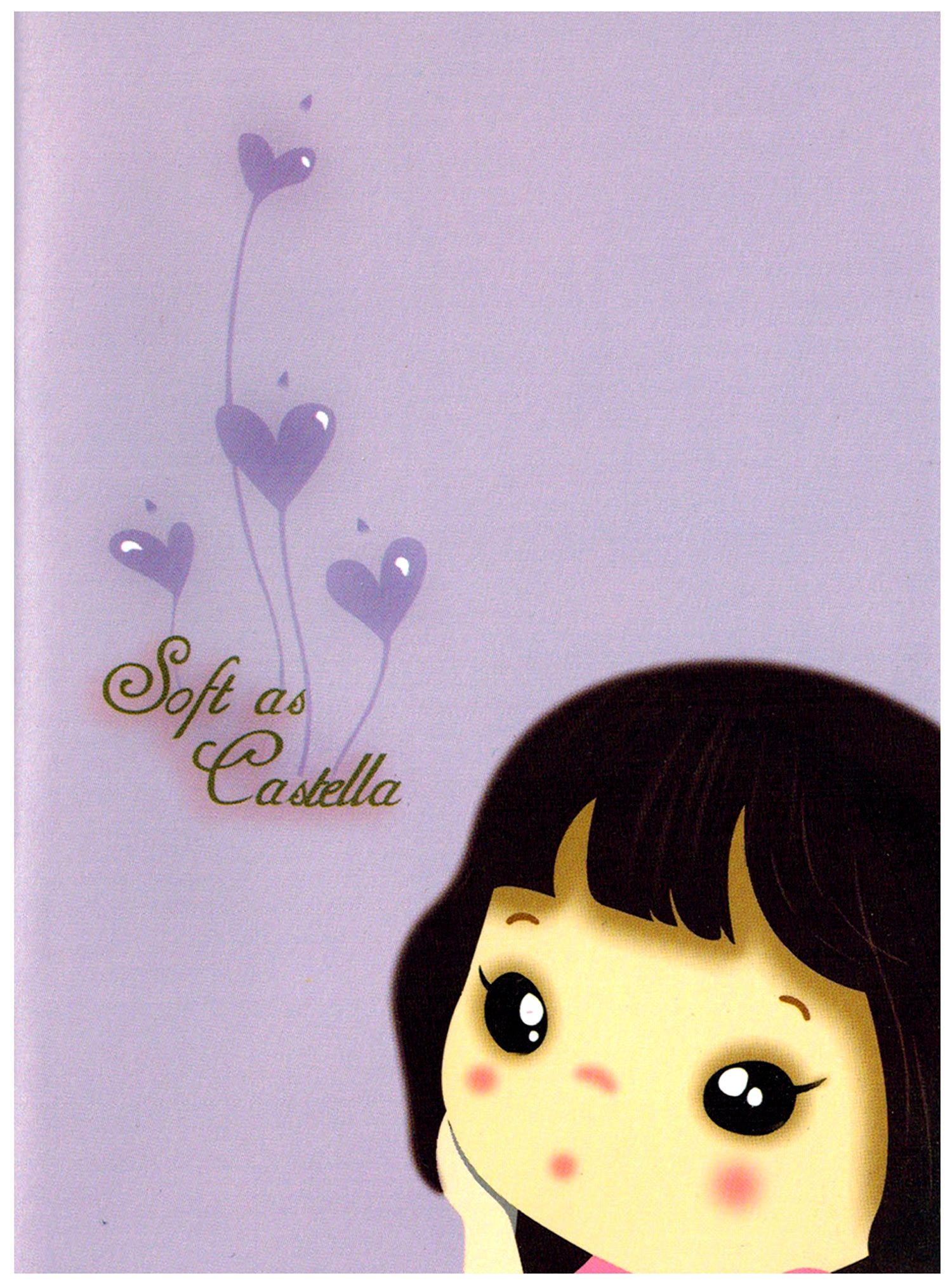 Girl Violet Castella Pocket Notebook Pocket