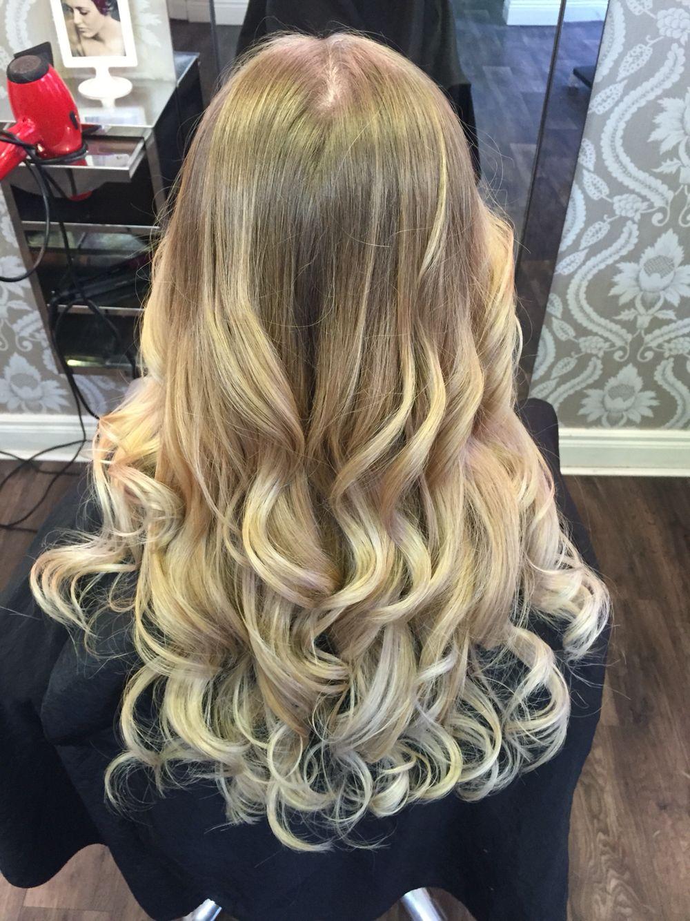 Ballayage Blond intérieur blonde waves long ballayage | hairi <3 | pinterest | blondes