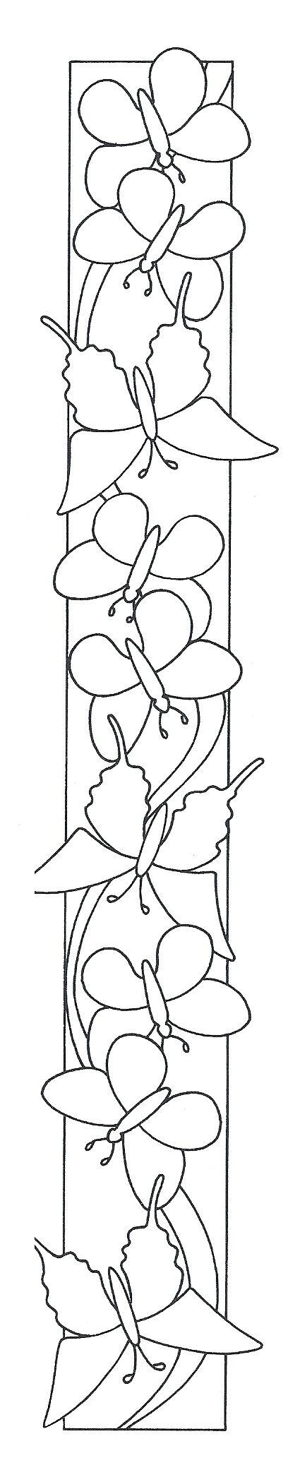 Pin von Evita Chiri auf bordes | Pinterest | Schmetterlinge ...