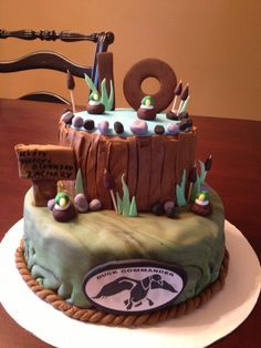 Southern Blue Celebrations Duck dynasty party Duck dynasty and Cake