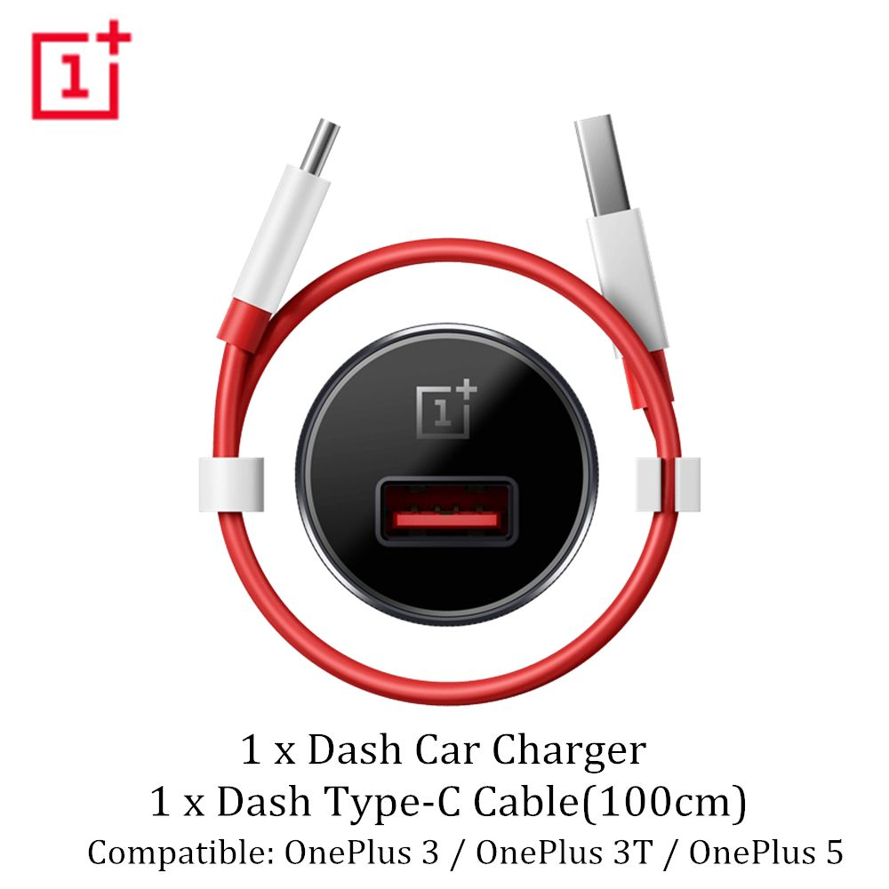 Genuine Official Car Charger Adapter Oneplus 5T 3T Dash Car