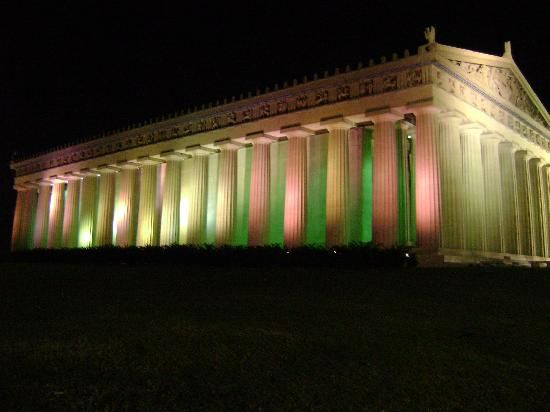 The Parthenon in Nashville, TN. Only full-scale replica of the Parthenon in the world.