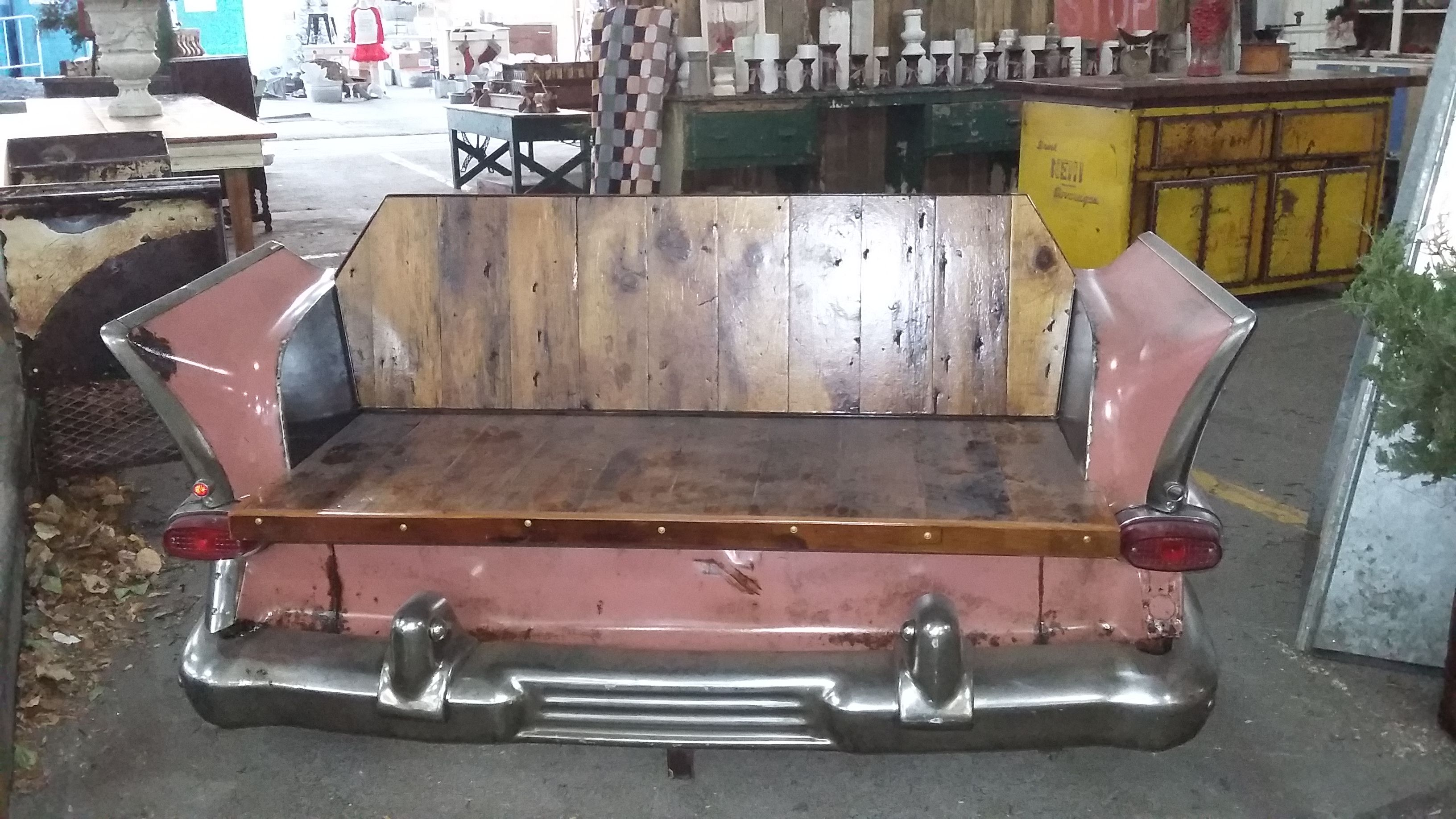 Surprising Car Bench Seat Rambler Bench Made By Midwest Fabricating Caraccident5 Cool Chair Designs And Ideas Caraccident5Info