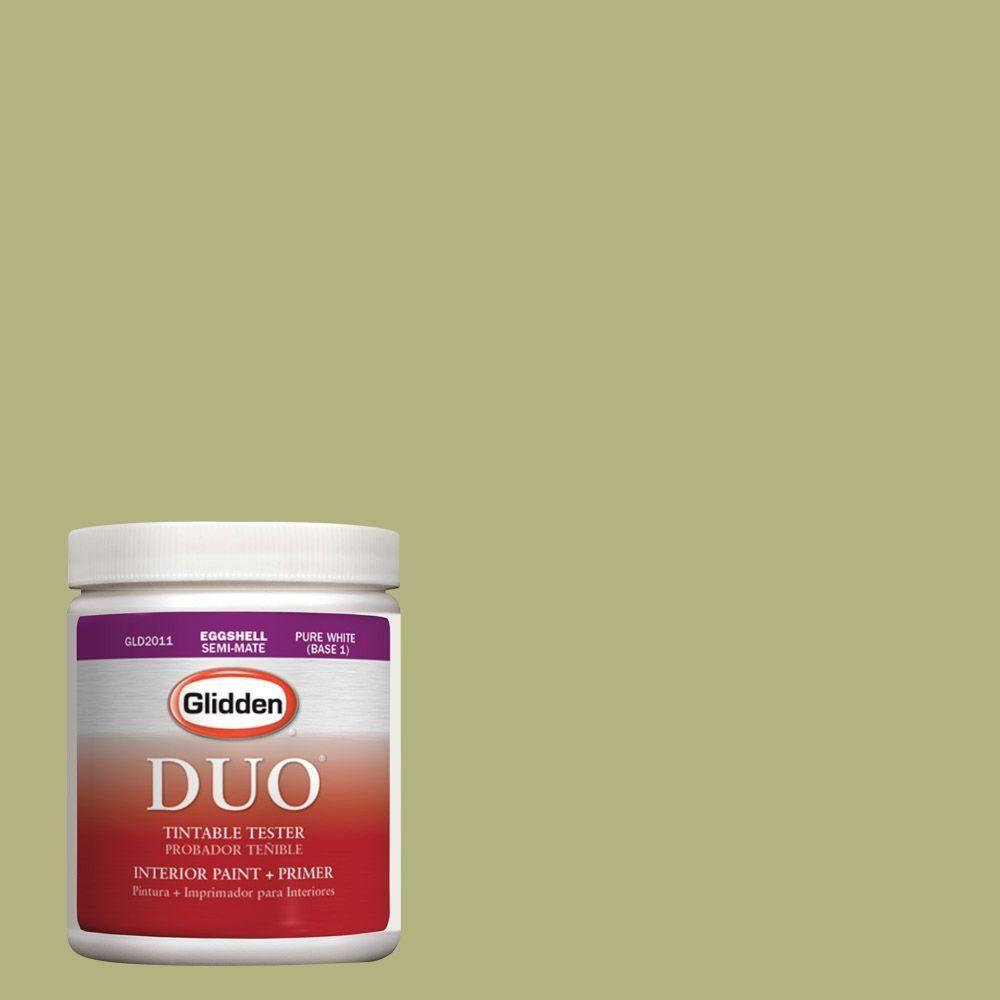 Glidden DUO 8 oz. #HDGG21U Spring Bud Green Latex Interior Paint Tester