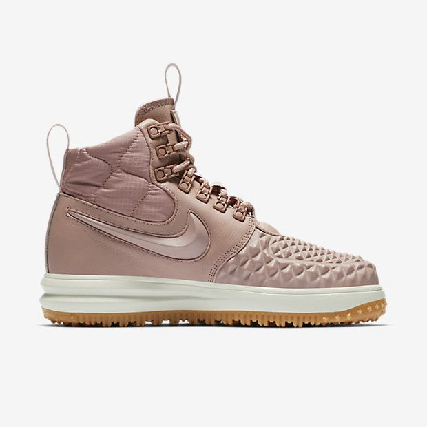 quality design 7f1f8 28417 wholesale nike lunar force 1 duckboot 17 womens boot particle pink black  pale grey particle pink