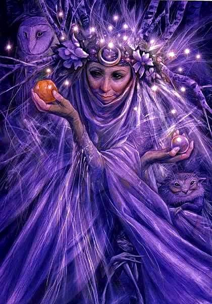 The crone's crown sparkles with the insights of a lifetime | Brian froud,  Fairy art, Magical creatures