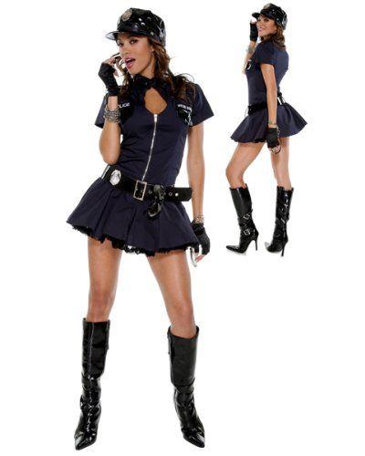 Forplay Women\u0027s Police Playmate Dress CUTE Pinterest Woman - slutty halloween costume ideas