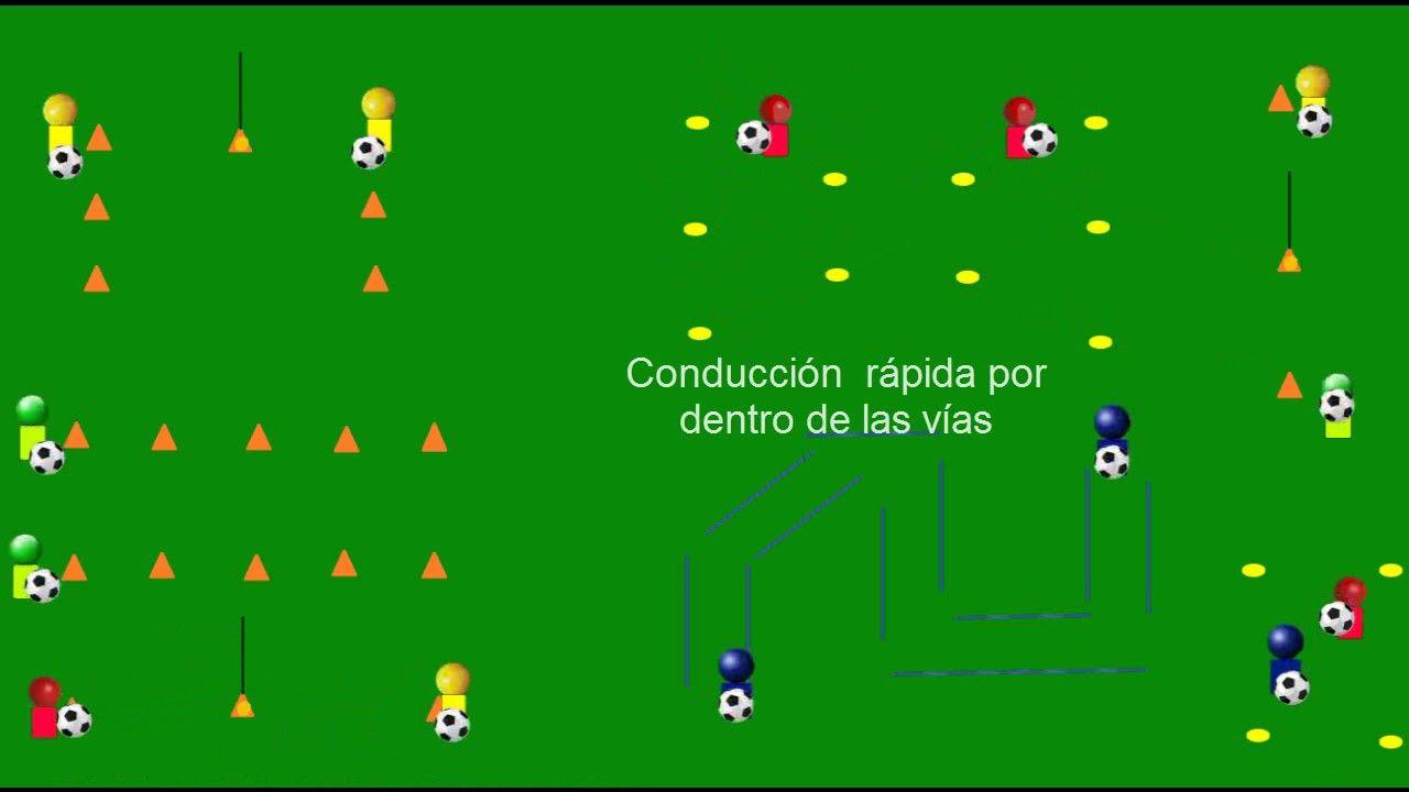 Circuito Tecnico Futbol : Fútbol base circuito técnico para la mejora de