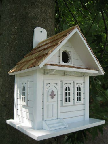 """10"""" Fully Functional Southern Hospitality Cottage Outdoor Garden Birdhouse"""