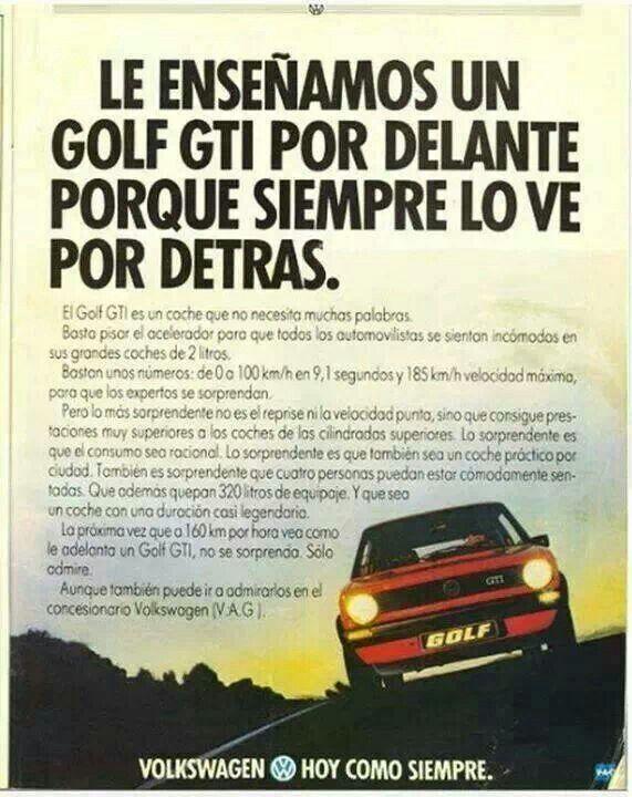 Acechar por supuesto plataforma  Volkswagen Golf GTi Mk I adv | Golf gti, Volkswagen golf gti, Golf gti mk1