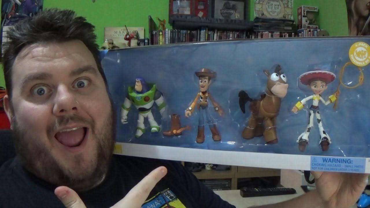 Disney Pixar Toybox Toy Story Gift Set With Bullseye Action Figure Disne Toy Story Gifts Toy Story Pixar