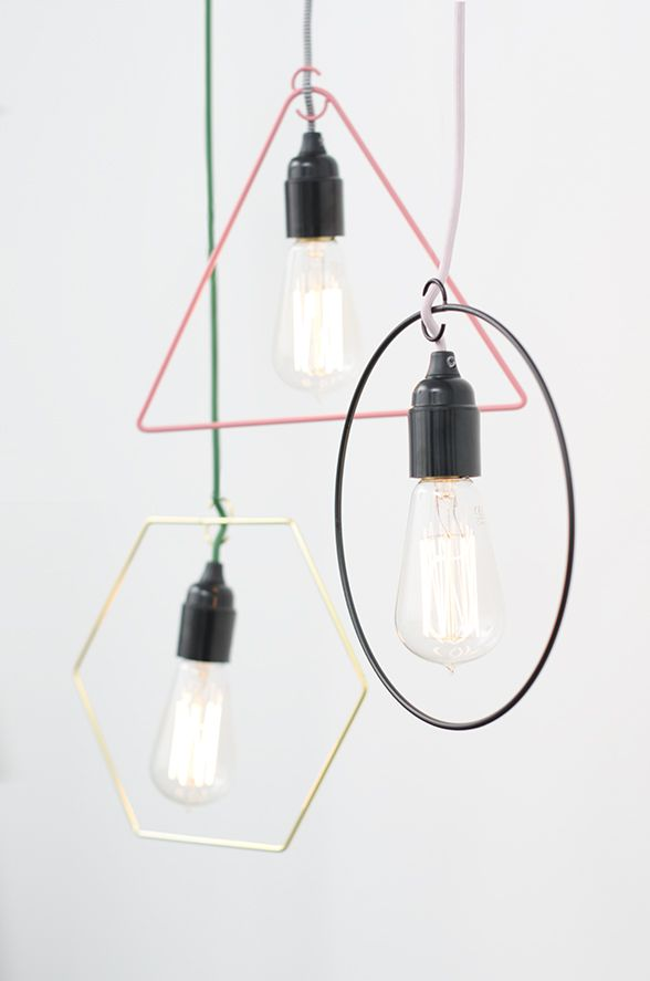 Style your naked light bulbs with geometric shapes lamp shade style your naked light bulbs with geometric shapes lamp shade metric from lagerhaus aloadofball Gallery