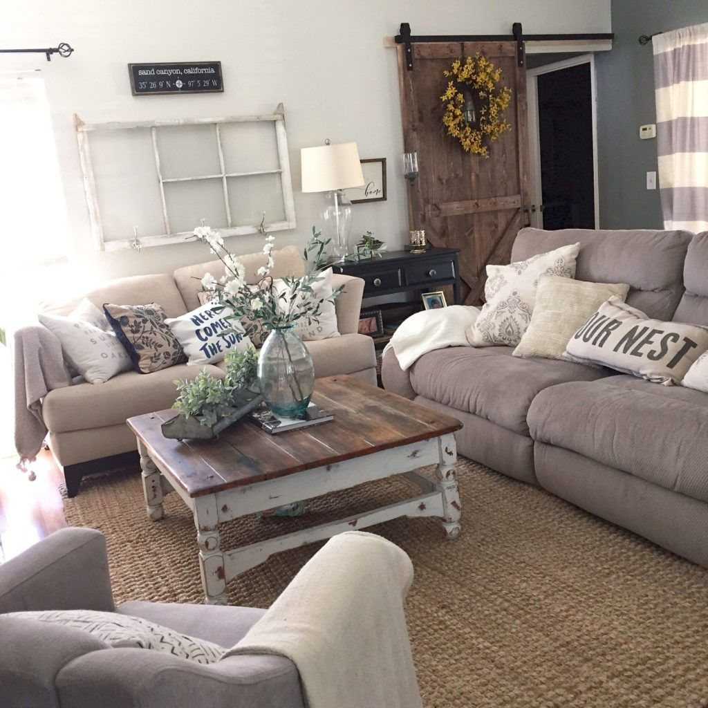 Adorable Cozy And Rustic Chic Living Room For Your Beautiful Home Decor Ideas 24 images