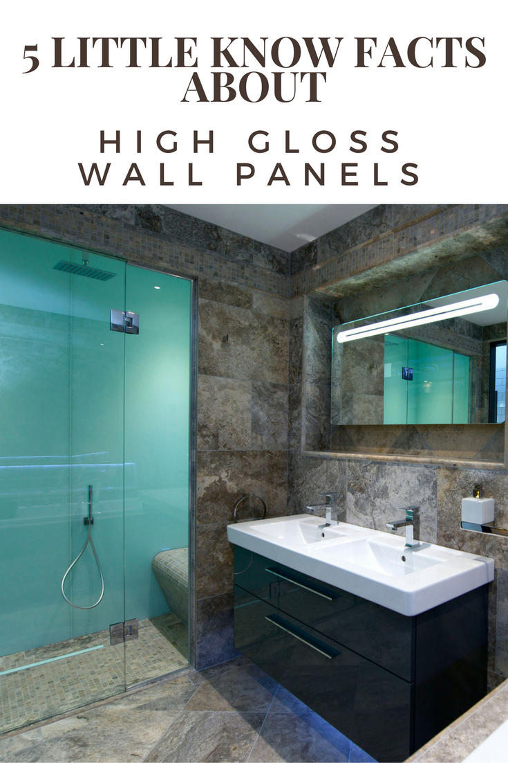 5 Little Known Facts about High Gloss Acrylic Wall Panels | Shower ...