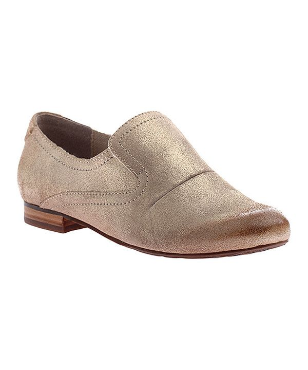 Look at this Mid Taupe Textured Upland Suede Loafer on #zulily today!