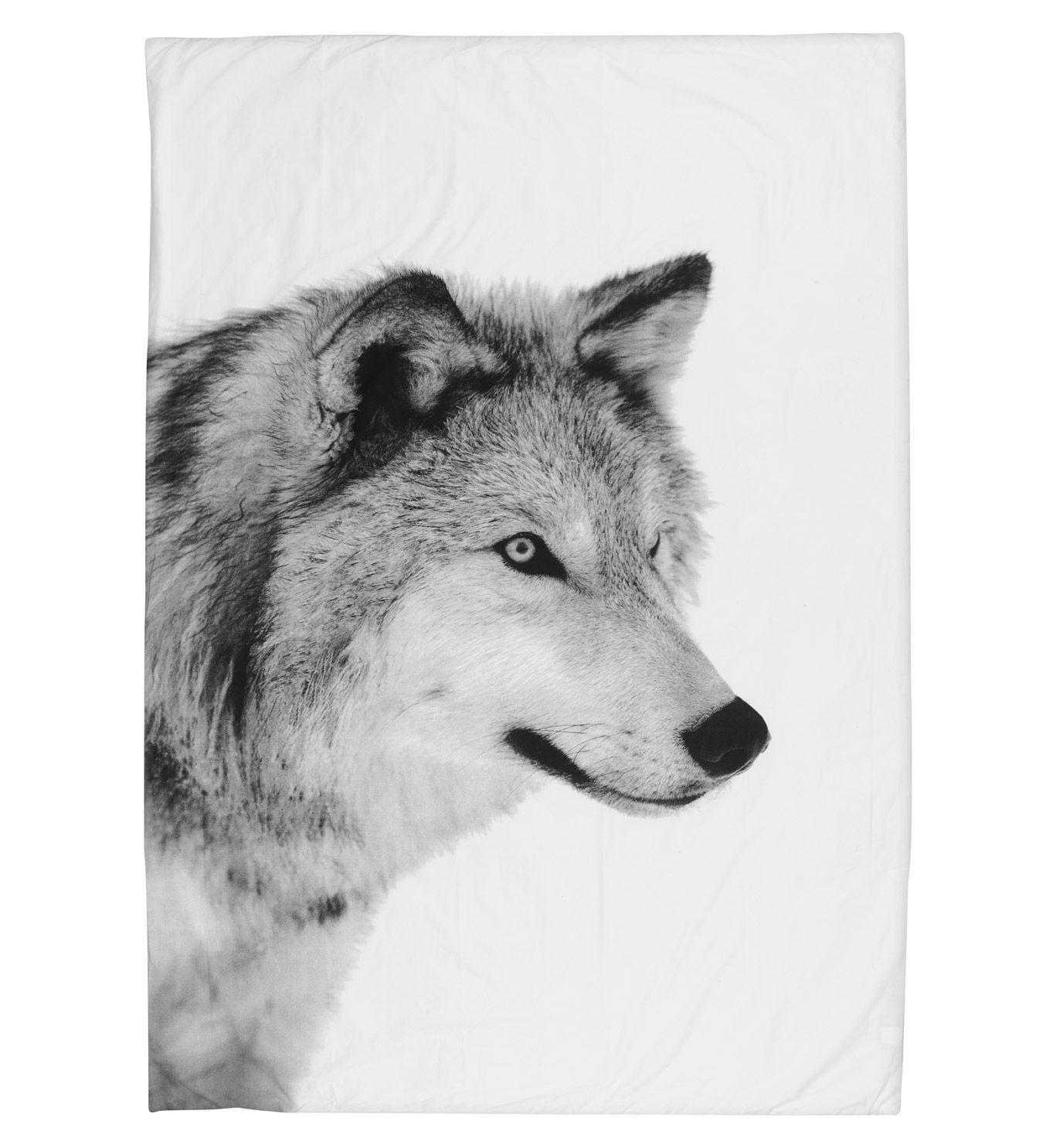 Bettbezug Wolf 240 X 220 Cm By Nord Amp Nbsp Schlichtheit