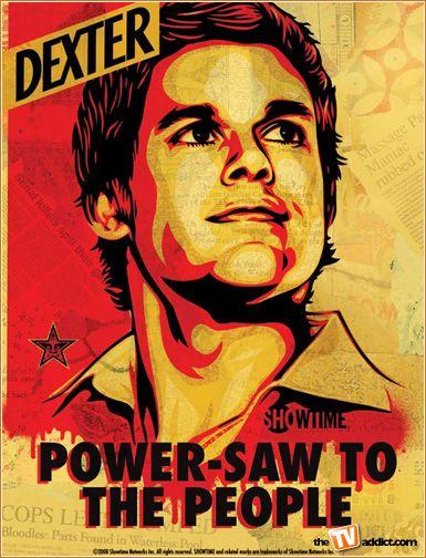 First Look Dexter Goes To Comic Con Dexter Poster Dexter Dexter Morgan
