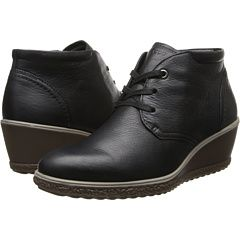 abbc77f12255 A good-looking walking comfort shoe. ECCO Camilla Wedge Ankle Boot ...