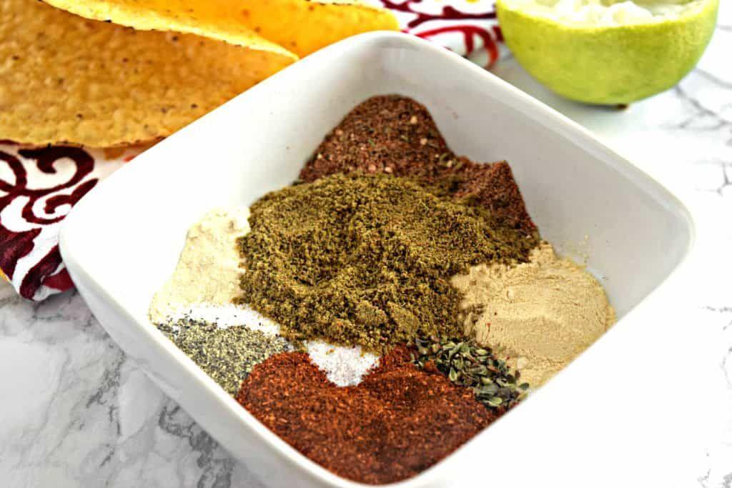 Homemade Taco Seasoning Gluten Free, Vegan Just What