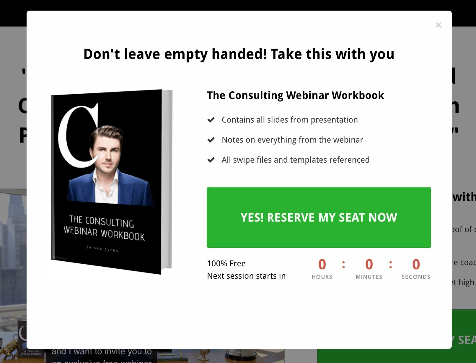 Optin for consulting accelerator webinar workbook by sam ovensg optin for consulting accelerator webinar workbook by sam ovensg malvernweather Image collections