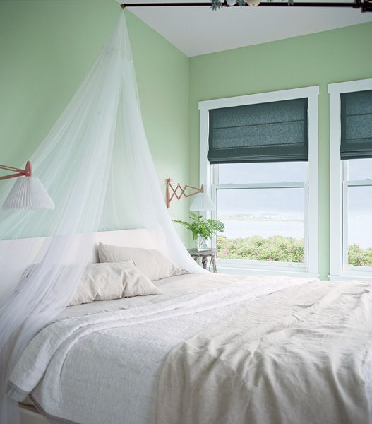 2014 Bedroom Color Trends paints & exterior stains | benjamin moore, palladian blue and walls
