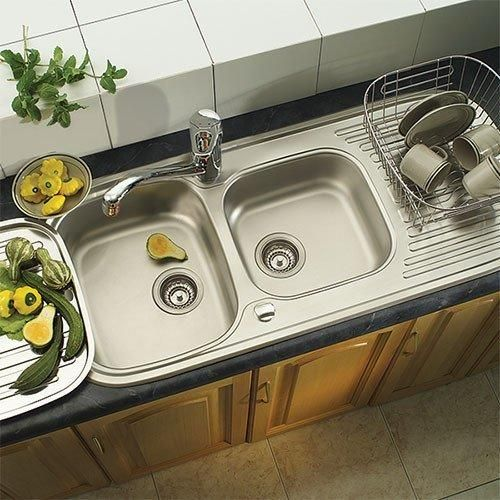 Quinline QLX621-110 Inset Kitchen Sink | Sinks, Franke kitchen sinks ...