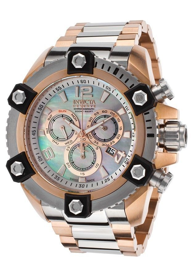 New Mens Invicta 15831 Reserve 63mm Grand Octane Swiss Made Chronograph Watch #Invicta #LuxuryDressStyles