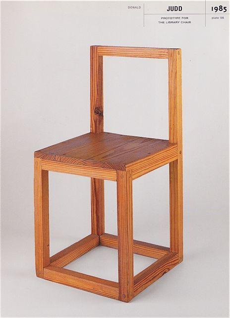 DIY Furniture · Sit Here U2022 Donald Judd