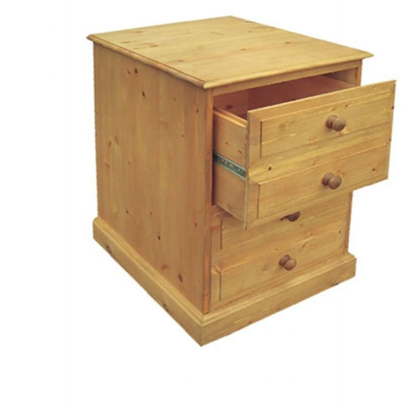 Solid Pine 2 Drawer Filing Cabinet Filing Cabinets Office