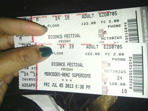 Essence Festival 2013