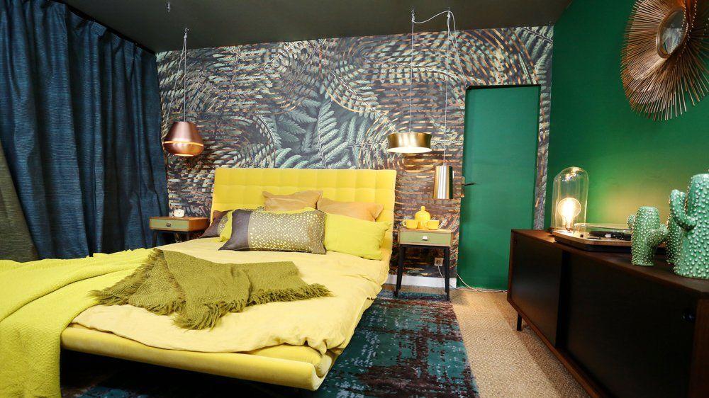 Podobny obraz | Deco chambre, Chambres tropicales et Deco ...