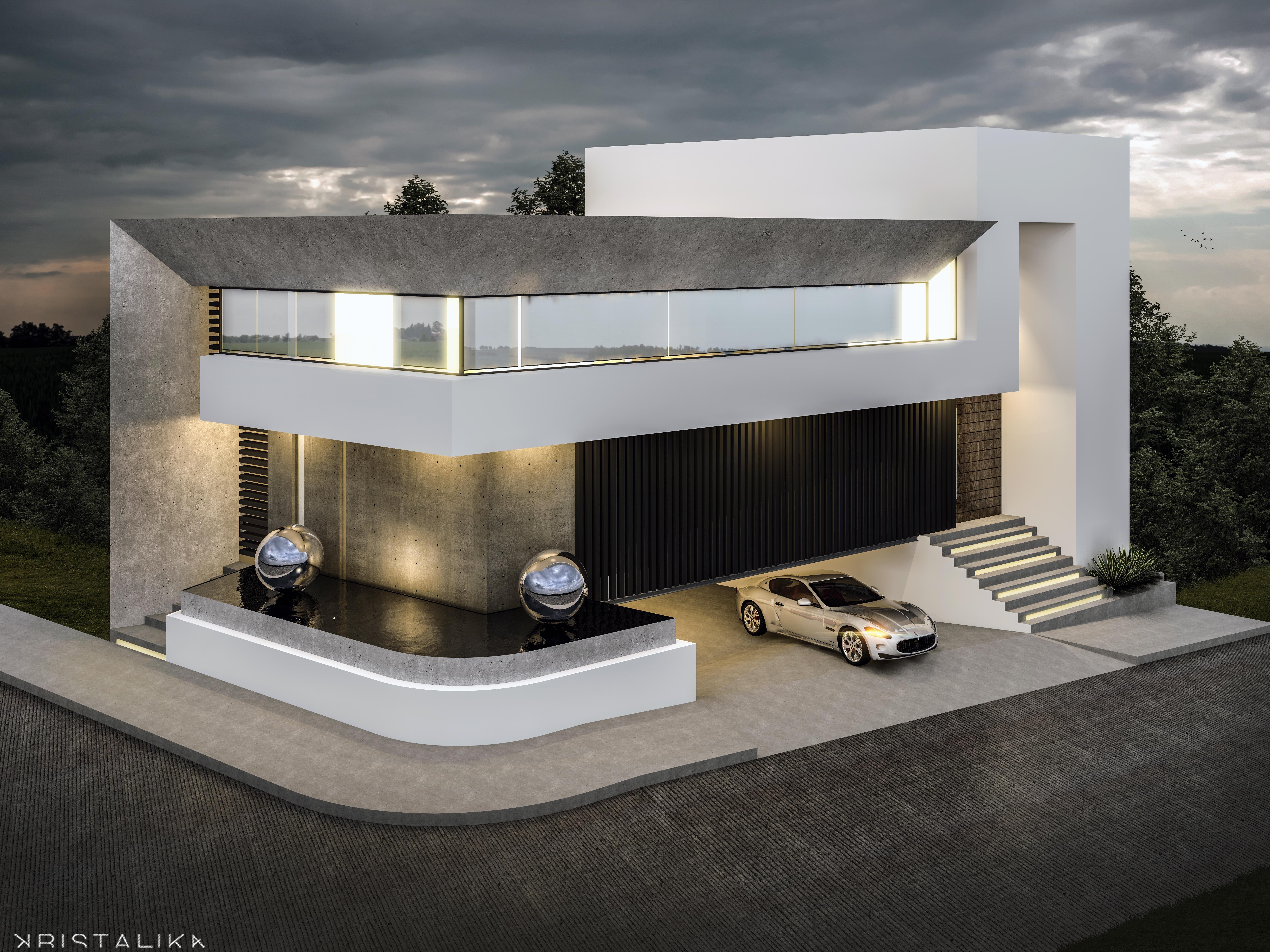 CMC HOUSE | Archimages Idées | Pinterest | Moderne häuser ...