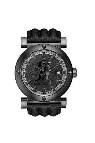 Harley-Davidson Men's Bulova Black #1 Racing Skull Wrist Watch 78B131 : Harley-Davidson Bulova Watches : Wisconsin Harley-Davidson