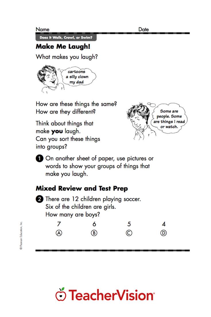 Math Worksheet Make Me Laugh Math Worksheet Math Practice Worksheets Math [ 1102 x 735 Pixel ]
