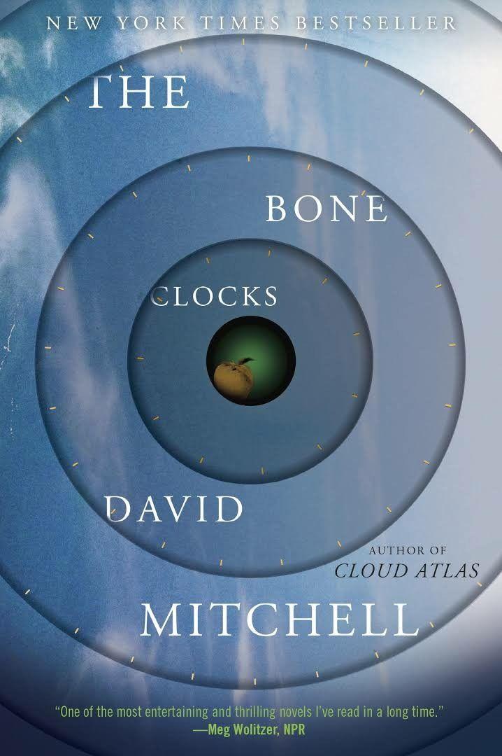 """""""The Bone Clocks""""  ***  David Mitchell  (2014)"""