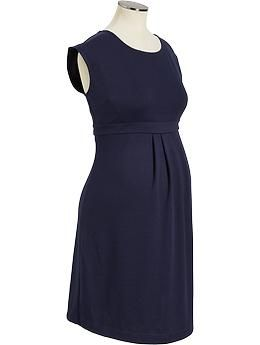 f55eb9e7339bd Maternity Pleated Ponte-Knit Dresses | Old Navy | A Temp board ...