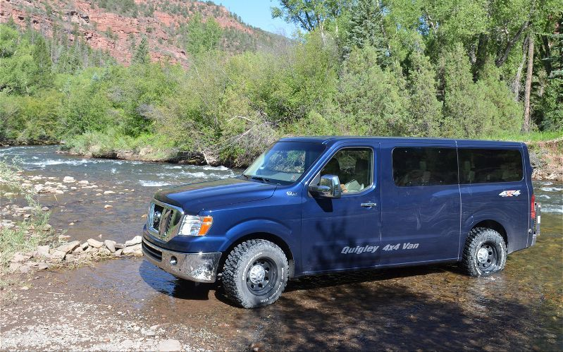 Quigley Nissan NV 4x4 Conversion | Van life, motorcycles and other