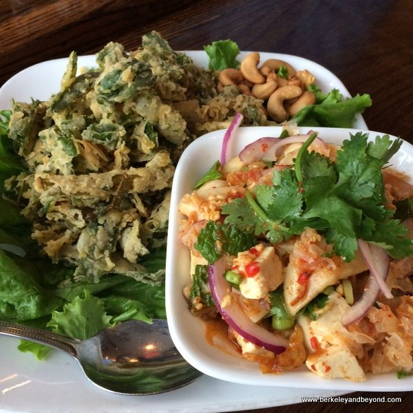 Crispy Chinese Watercress Salad At Sripraphai In Woodside Queens Nyc Http Travelswithcarole Blogspot Com 2015 08 Good E Good Eats Eat Best Thai Restaurant