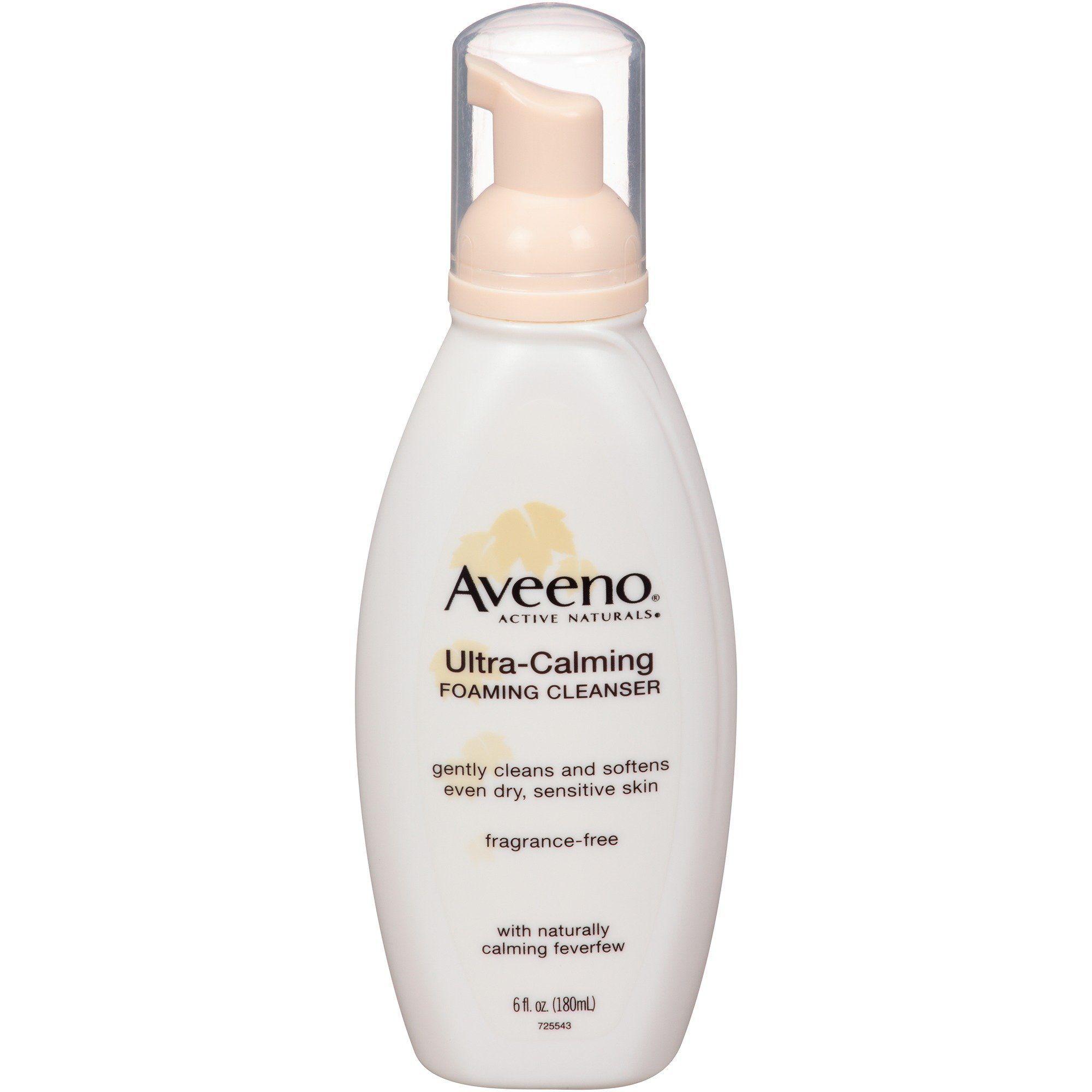 Aveeno Active Naturals UltraCalming Foaming Cleanser