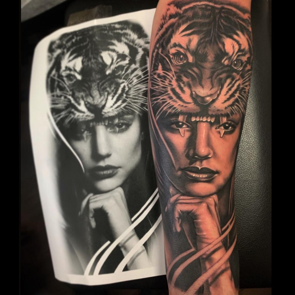 Tattoo Of The Month Tattooawards In 2020 Forearm Tattoos Tattoos Portrait Tattoo