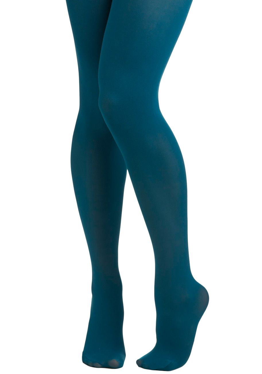 da7d00db6 Tights for Every Occasion in Teal by Tabbisocks - Blue
