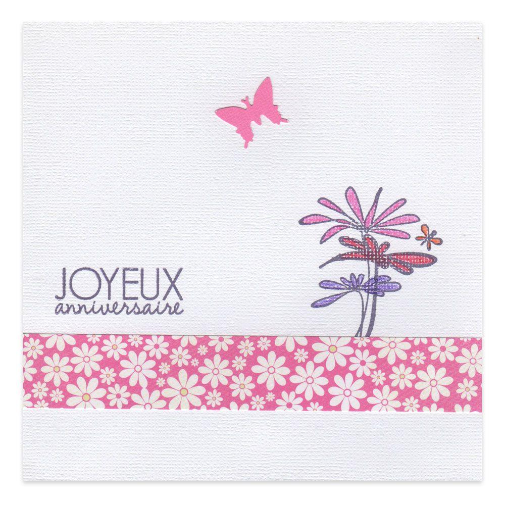 carte anniversaire femme fleurs et papillons collection les cr ations d 39 addy lovely carte. Black Bedroom Furniture Sets. Home Design Ideas