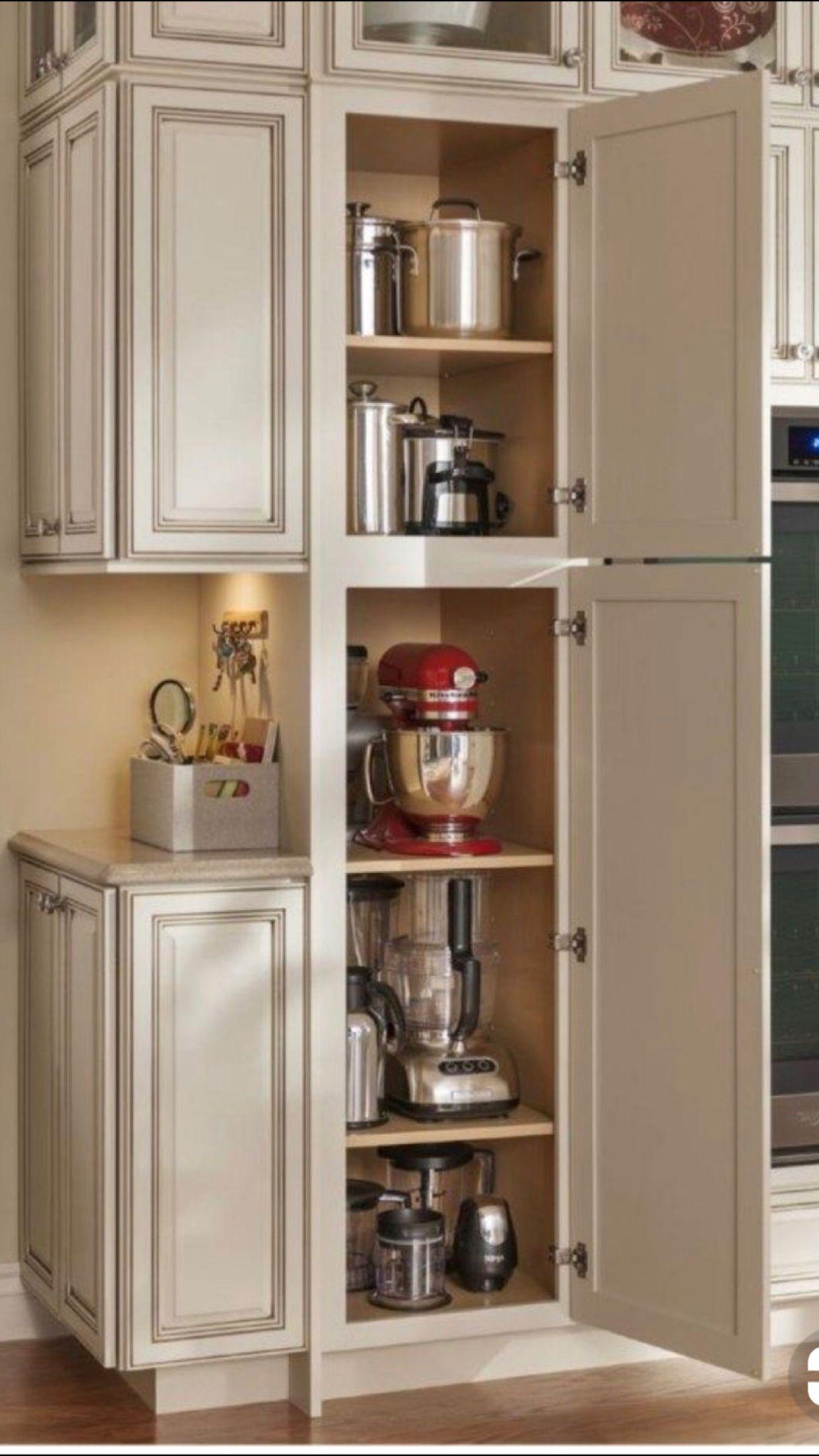 Organizar la cocina mueble para electrodom sticos - Mueble esquinero cocina ...