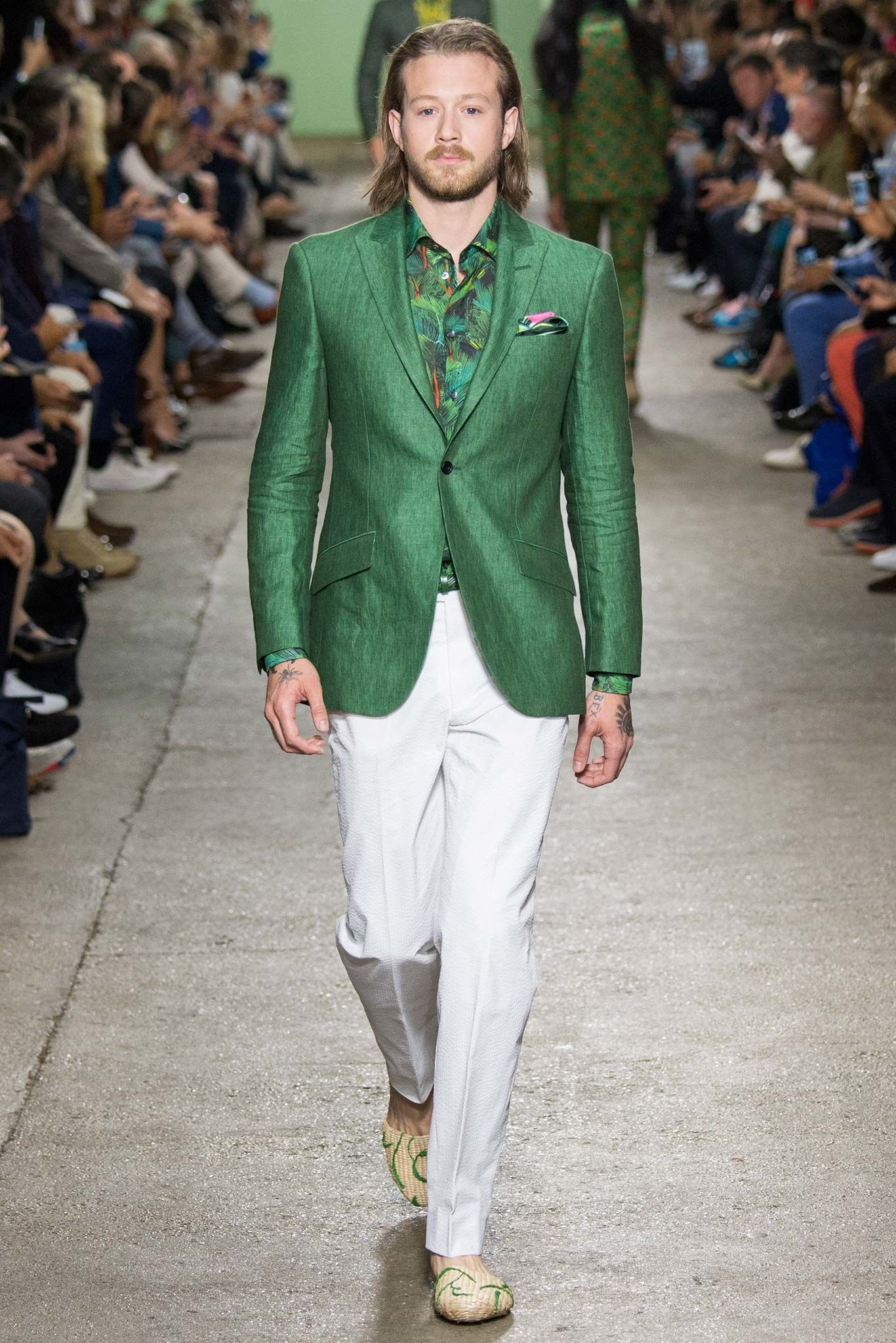 Richard James Spring 2016 Menswear Fashion Show