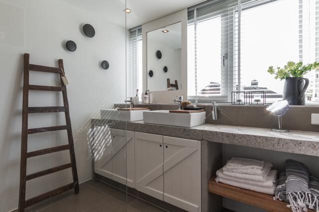 Eigen huis en tuin praxis mooie zelfgemaakte badkamer diy