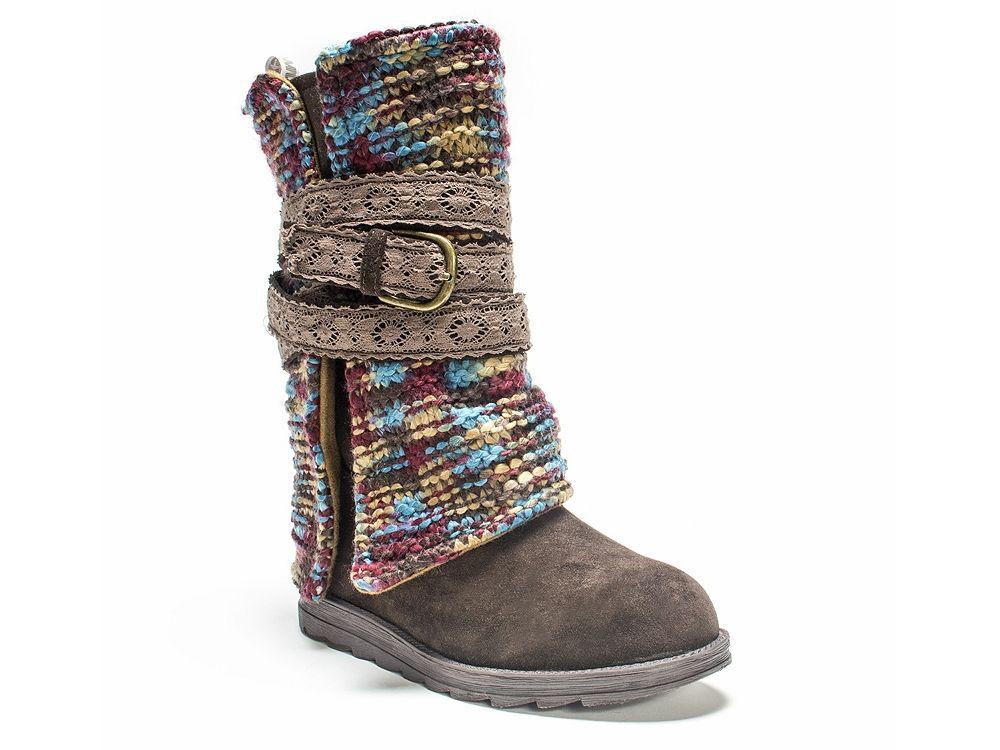 Muk Luks Nikki Multicolor Boot