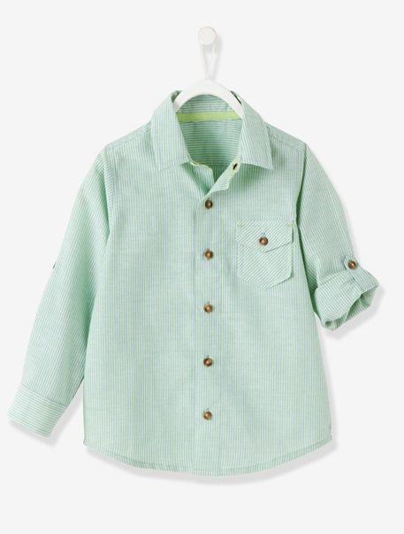 f2fdc87dc74 Camisa a rayas niño