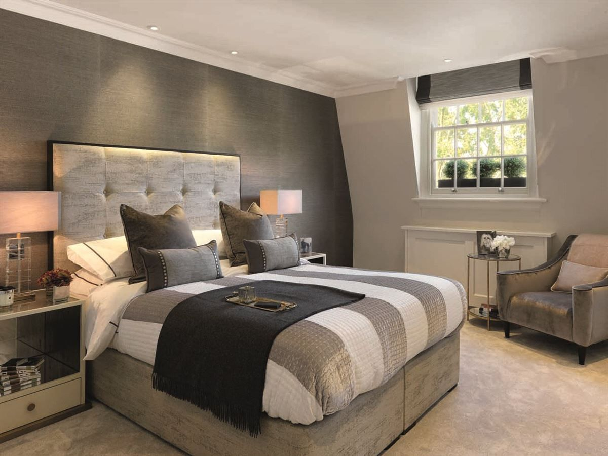 Luxury real estate impressive newly refurbished home bedrooms